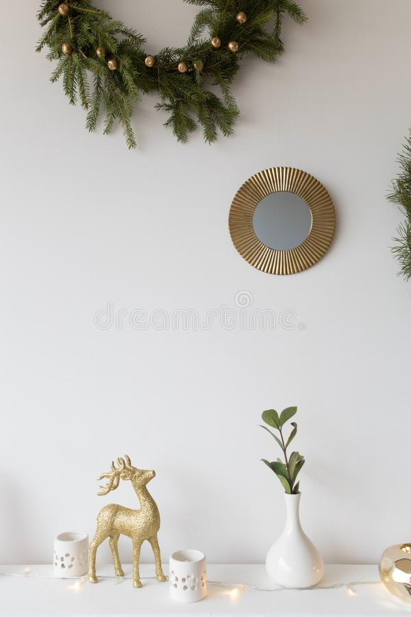Στεφάνια Χριστουγέννων στοκ φωτογραφία με δικαίωμα ελεύθερης χρήσης