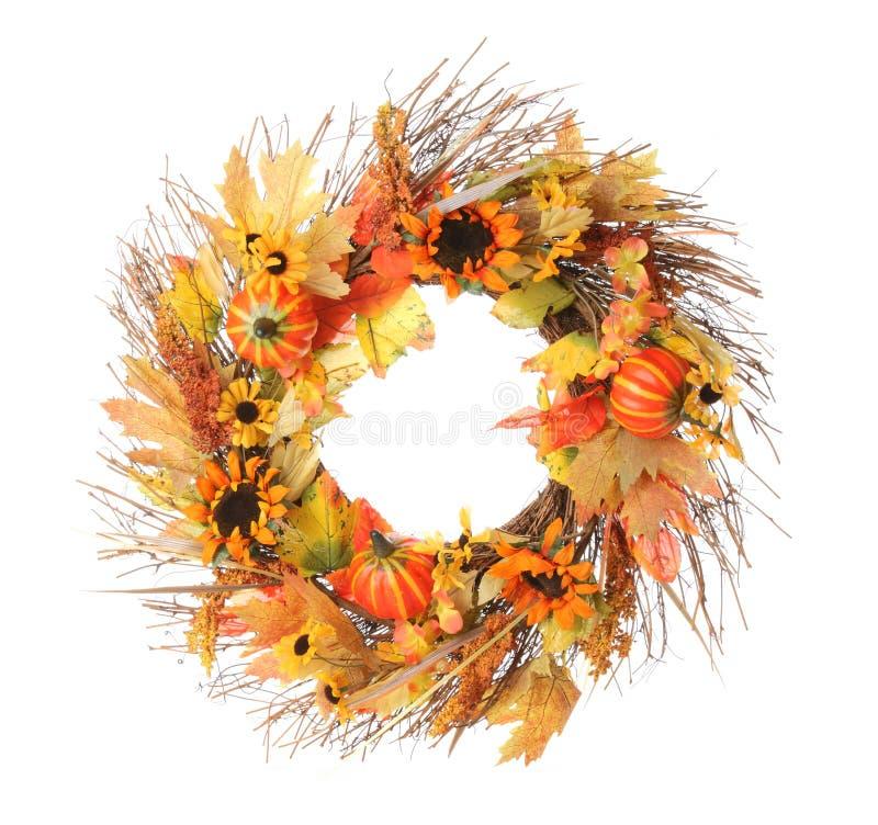 Στεφάνι ημέρας των ευχαριστιών στοκ εικόνες με δικαίωμα ελεύθερης χρήσης