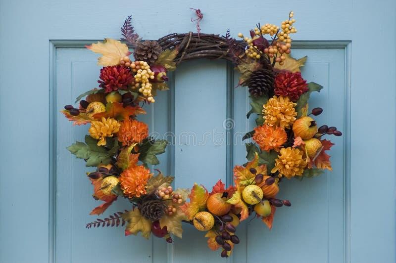 Download στεφάνι ημέρας των ευχαρι&si Στοκ Εικόνες - εικόνα από γιορτάστε, φθινοπώρου: 380438