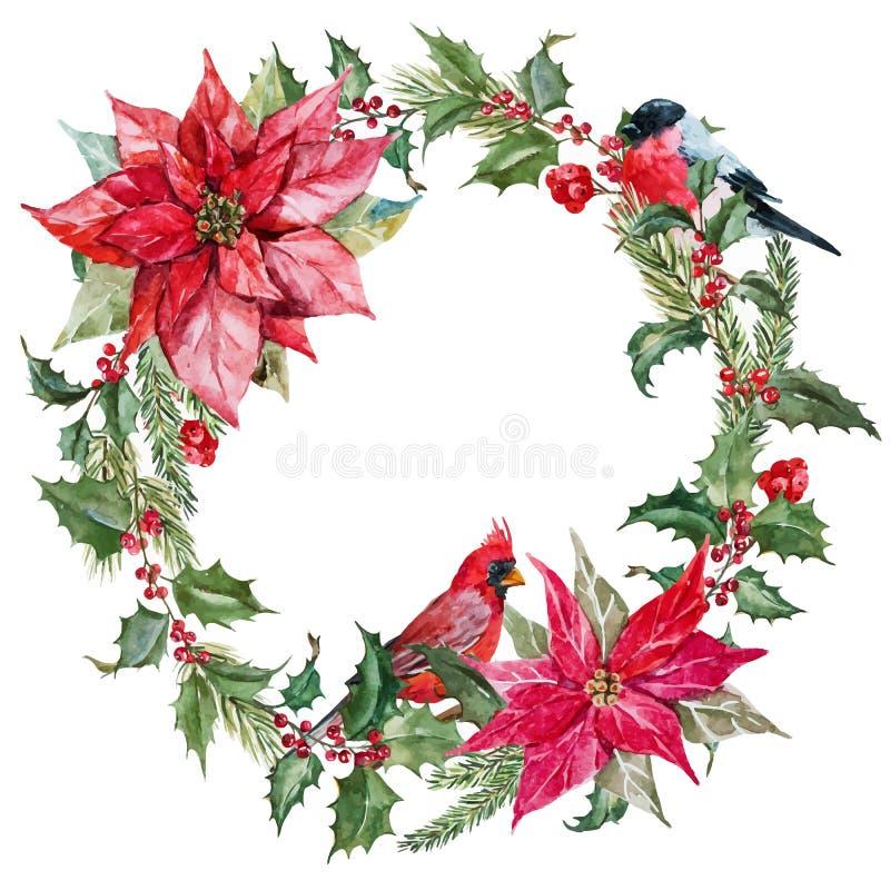Στεφάνι Χριστουγέννων ελεύθερη απεικόνιση δικαιώματος