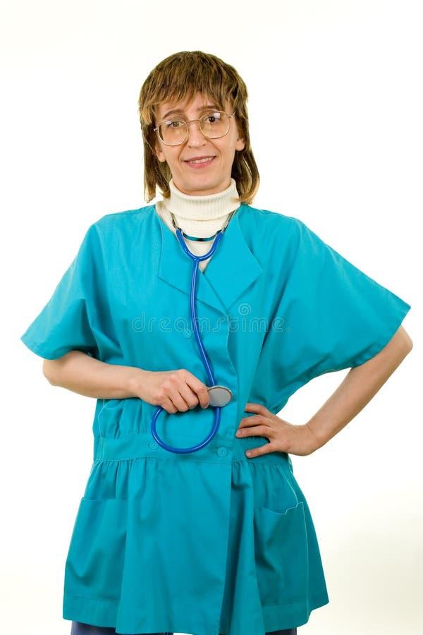 στηθοσκόπιο νοσοκόμων στοκ φωτογραφίες