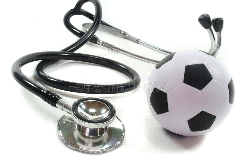 Download στηθοσκόπιο ποδοσφαίρ&omicron Στοκ Εικόνα - εικόνα από νάρκωση, καρδιά: 13187511