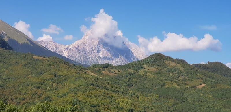Στην κοιλάδα Rigopiano στοκ φωτογραφίες με δικαίωμα ελεύθερης χρήσης