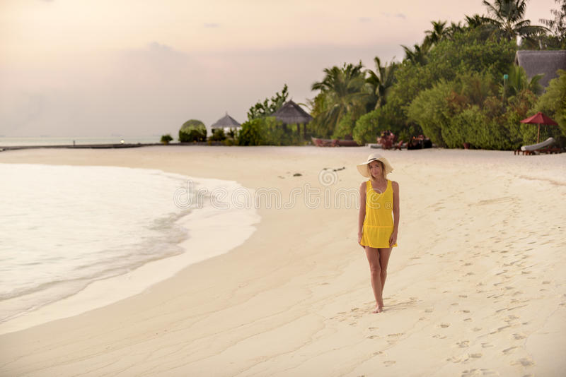 Στην παραλία στοκ εικόνες