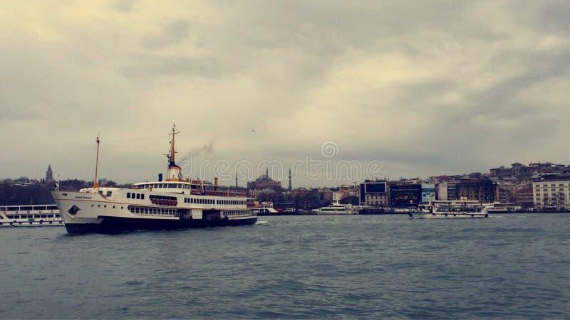Στη Ιστανμπούλ στοκ εικόνα με δικαίωμα ελεύθερης χρήσης