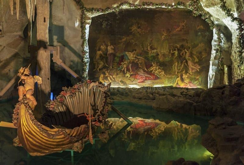 Στη σπηλιά της Αφροδίτης στοκ εικόνα