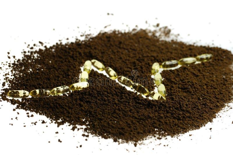 Στιγμιαίος καφές στοκ εικόνες με δικαίωμα ελεύθερης χρήσης