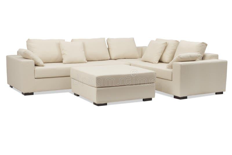 στιλβωμένος καναπές στοκ φωτογραφία με δικαίωμα ελεύθερης χρήσης