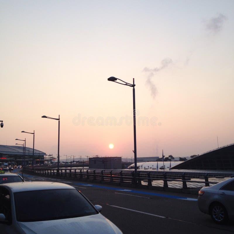 Στις 07:25 α Μ στοκ φωτογραφίες