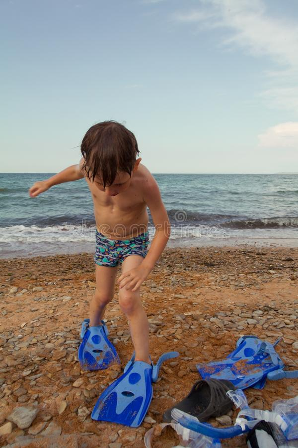 Στις θερινές διακοπές στοκ φωτογραφία με δικαίωμα ελεύθερης χρήσης