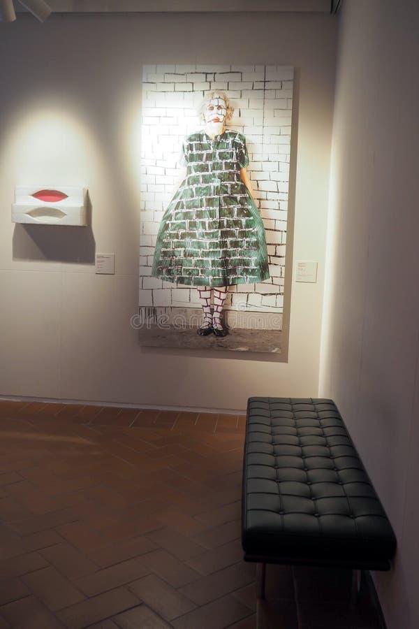 Στοά σύγχρονου και της σύγχρονης τέχνης στη Ρώμη, Ιταλία στοκ φωτογραφία με δικαίωμα ελεύθερης χρήσης