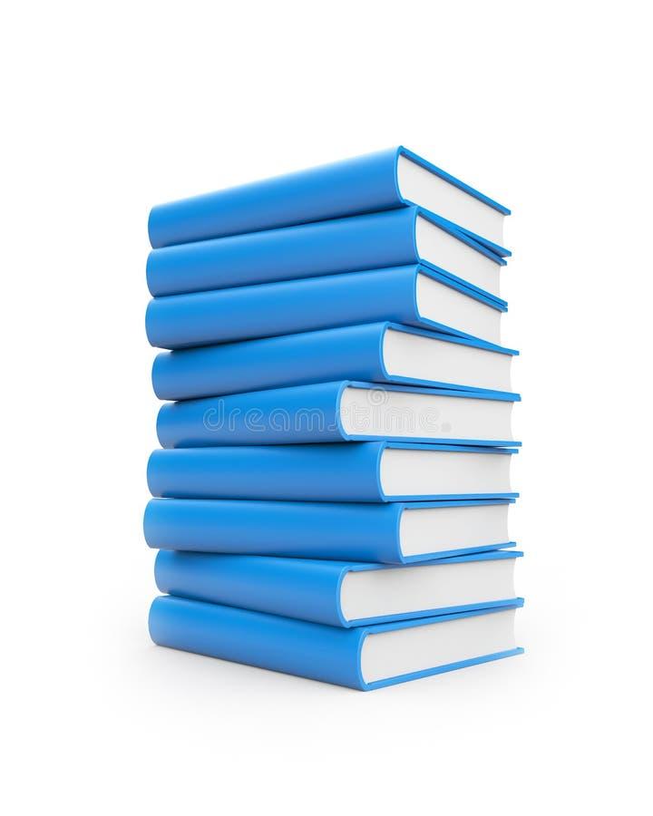 στοίβα βιβλίων ελεύθερη απεικόνιση δικαιώματος