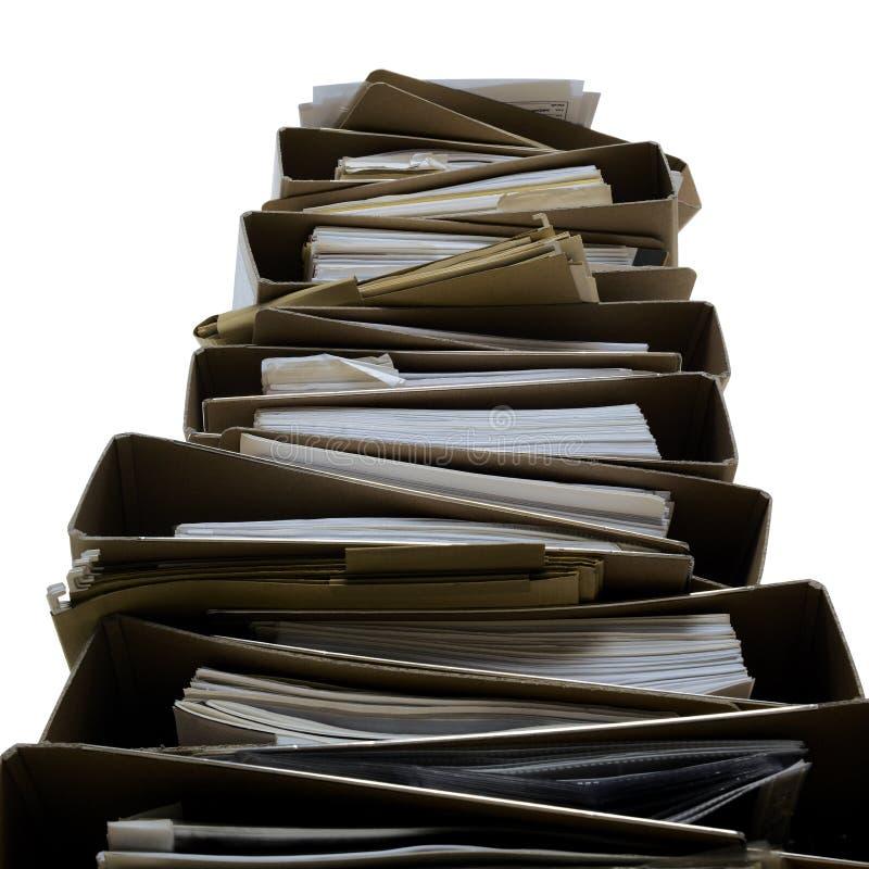 στοίβα γραμματοθηκών στοκ εικόνα με δικαίωμα ελεύθερης χρήσης