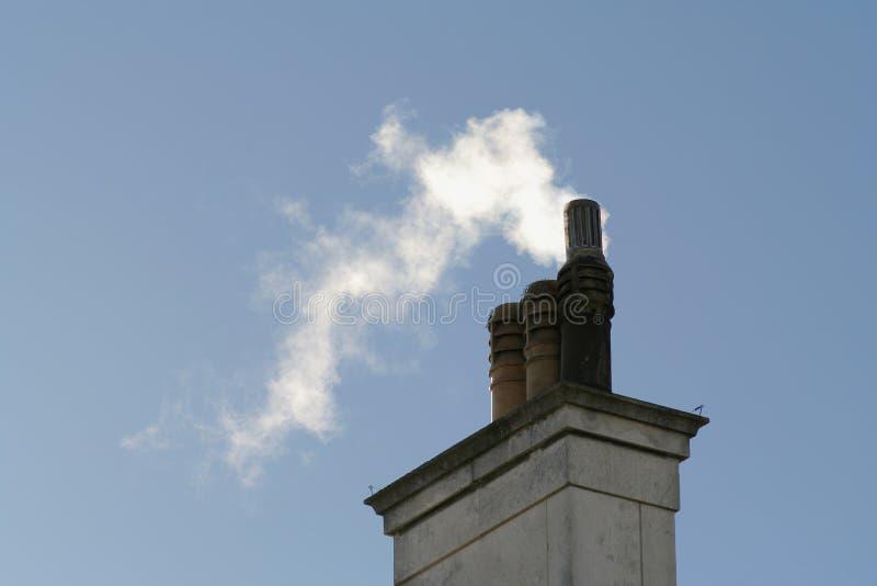 στοίβα καπνοδόχων στοκ εικόνα