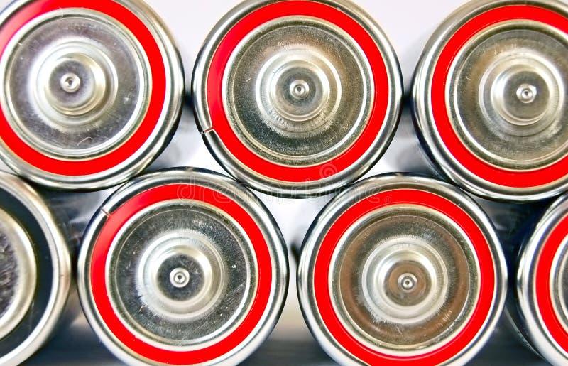 στοίβα μπαταριών στοκ φωτογραφία με δικαίωμα ελεύθερης χρήσης
