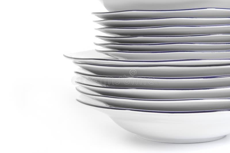 Download στοίβα πιάτων στοκ εικόνες. εικόνα από επιχείρηση, μεγάλος - 22781702
