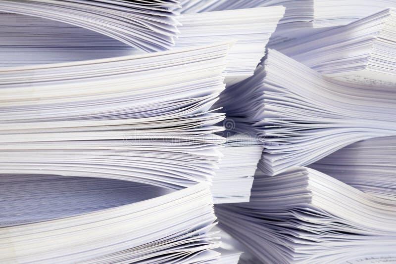Στοίβα των εγγράφων στοκ φωτογραφία με δικαίωμα ελεύθερης χρήσης