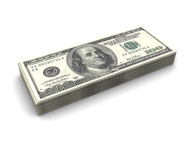 στοίβα χρημάτων διανυσματική απεικόνιση