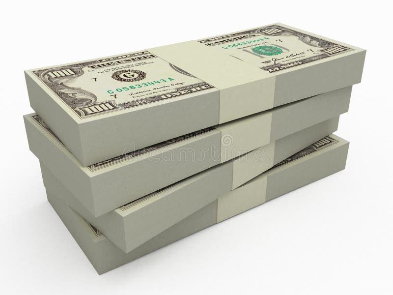 στοίβα χρημάτων ελεύθερη απεικόνιση δικαιώματος