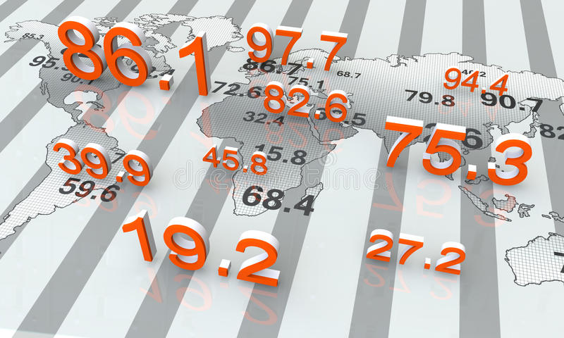 στοιχεία αριθμητικά ελεύθερη απεικόνιση δικαιώματος