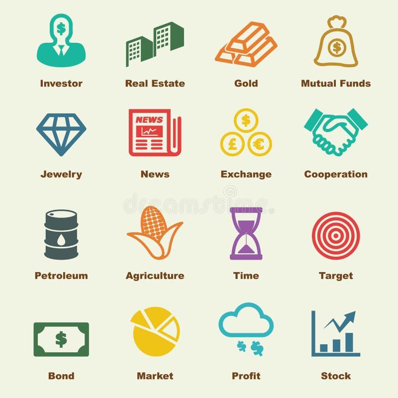Στοιχεία επένδυσης απεικόνιση αποθεμάτων