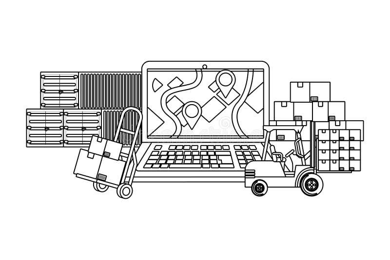 Στοιχεία παράδοσης και μεταφορών σε γραπτό απεικόνιση αποθεμάτων