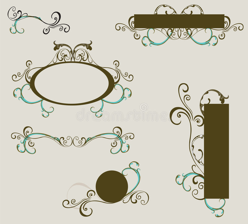 στοιχεία σχεδίου απεικόνιση αποθεμάτων