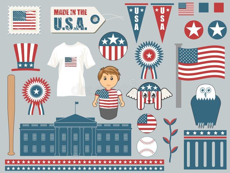 στοιχεία της Αμερικής ελεύθερη απεικόνιση δικαιώματος