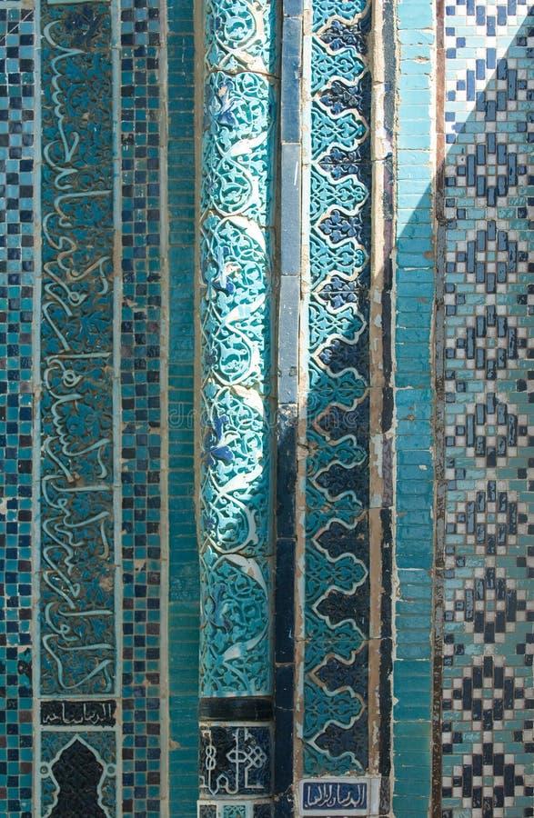 Στοιχεία της αρχαίας αρχιτεκτονικής της κεντρικής Ασίας στοκ εικόνα