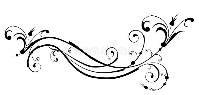 στοιχεία floral διανυσματική απεικόνιση