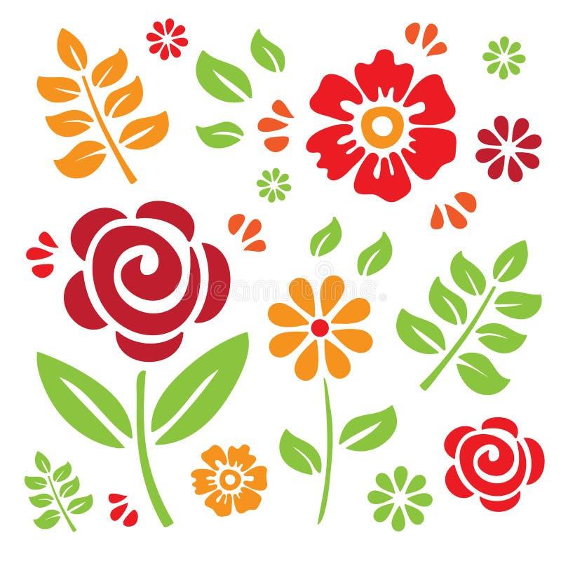 στοιχεία floral απεικόνιση αποθεμάτων