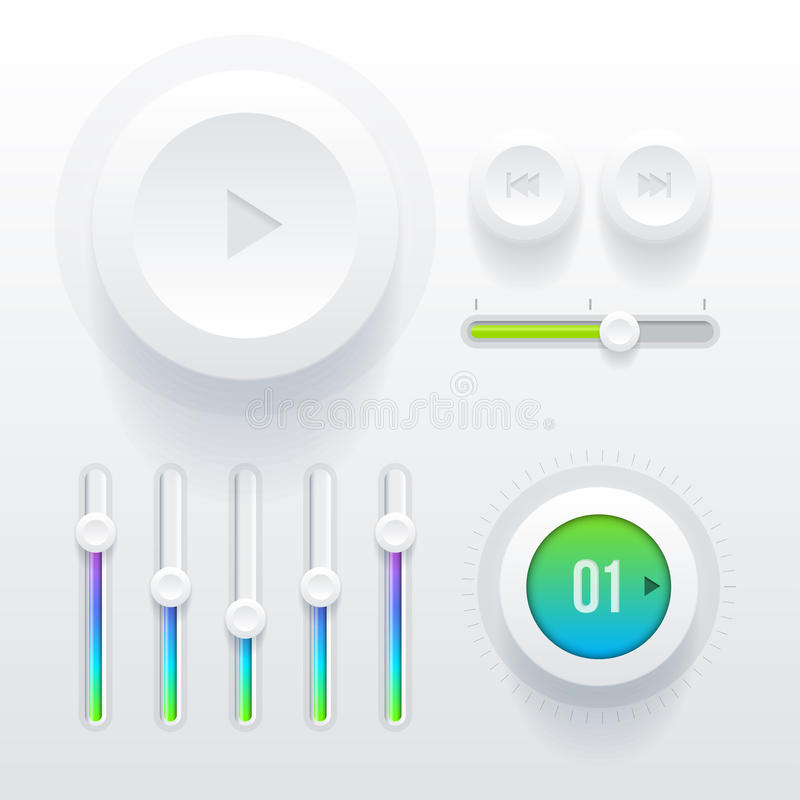 Στοιχεία Ui απεικόνιση αποθεμάτων