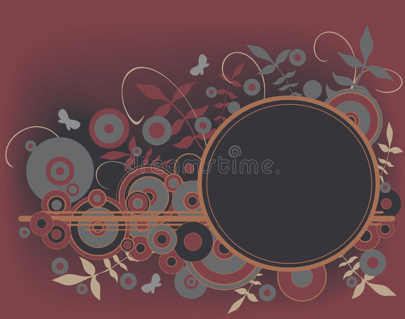 στοιχείο κύκλων διανυσματική απεικόνιση