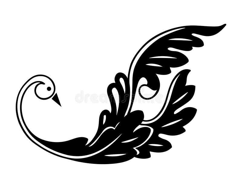 στοιχείο πουλιών ελεύθερη απεικόνιση δικαιώματος