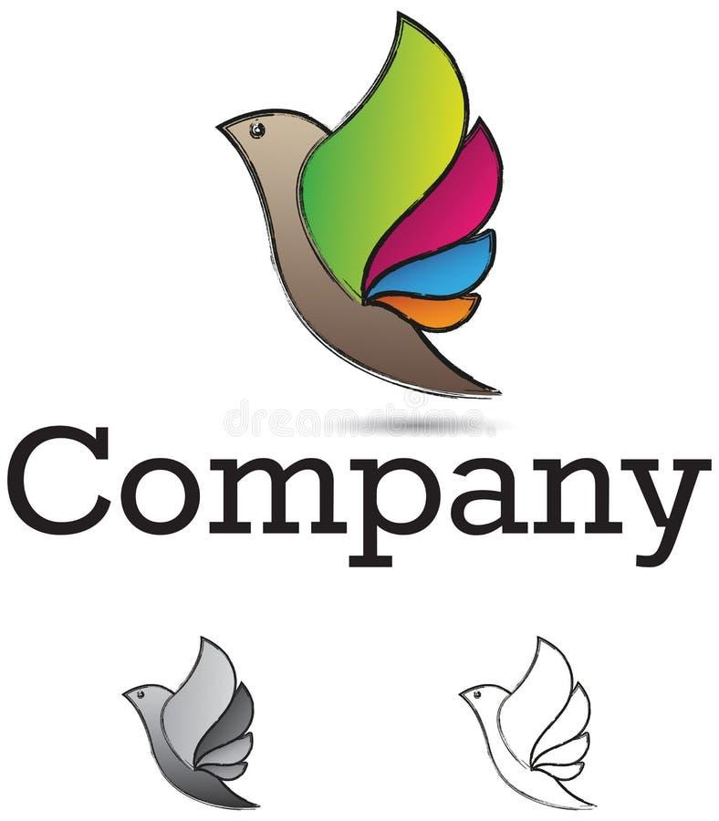 Στοιχείο σχεδίου πουλιών απεικόνιση αποθεμάτων