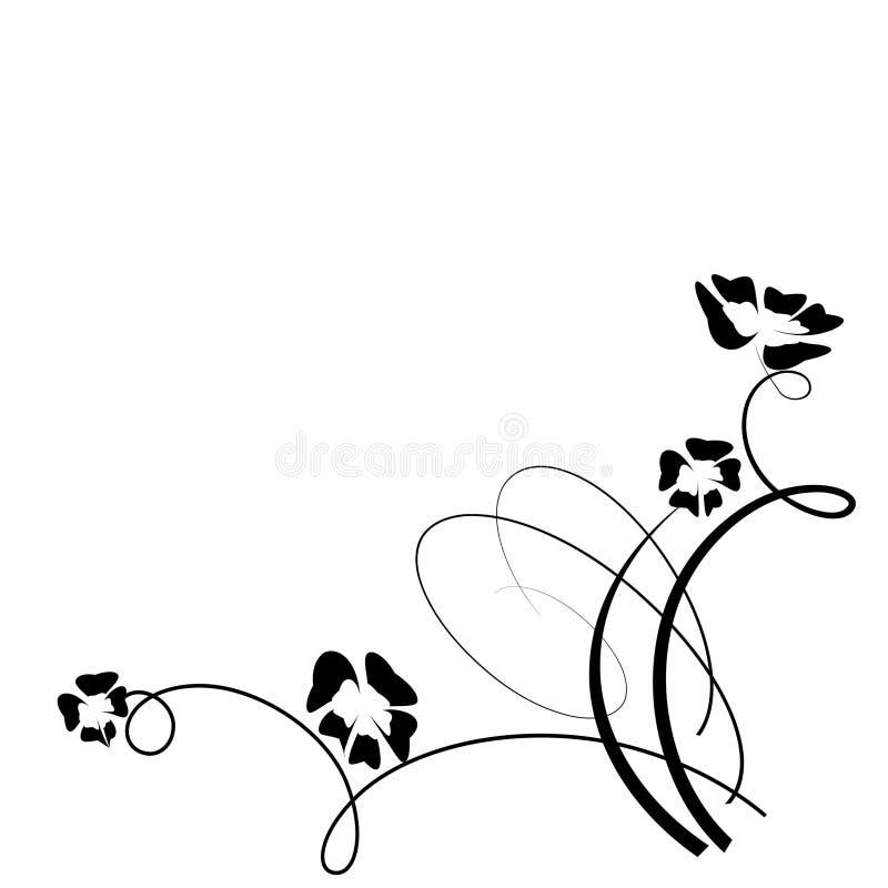 στοιχείο σχεδίου floral απεικόνιση αποθεμάτων