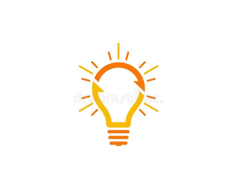 Στοιχείο σχεδίου λογότυπων εικονιδίων ιδέας μεριδίου ελεύθερη απεικόνιση δικαιώματος