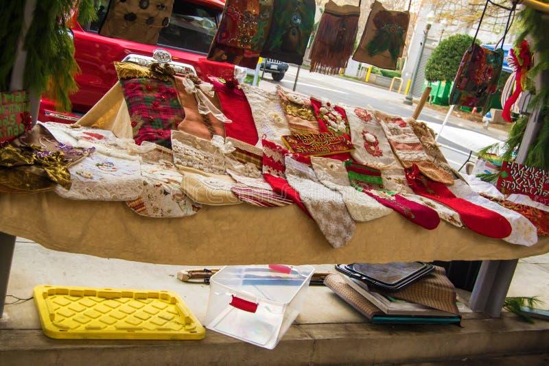 Στοιχείο τεχνών και τεχνών στην ιστορική αγορά αγροτών Roanoke στοκ φωτογραφίες