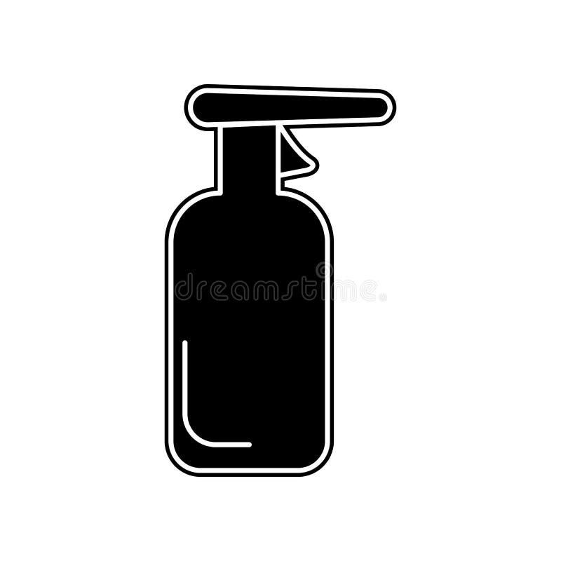 Εικονίδιο προϊόντων καθαρισμού Στοιχείο του λουτρού για το κινητό εικονίδιο έννοιας και Ιστού apps Glyph, επίπεδο εικονίδιο για τ απεικόνιση αποθεμάτων