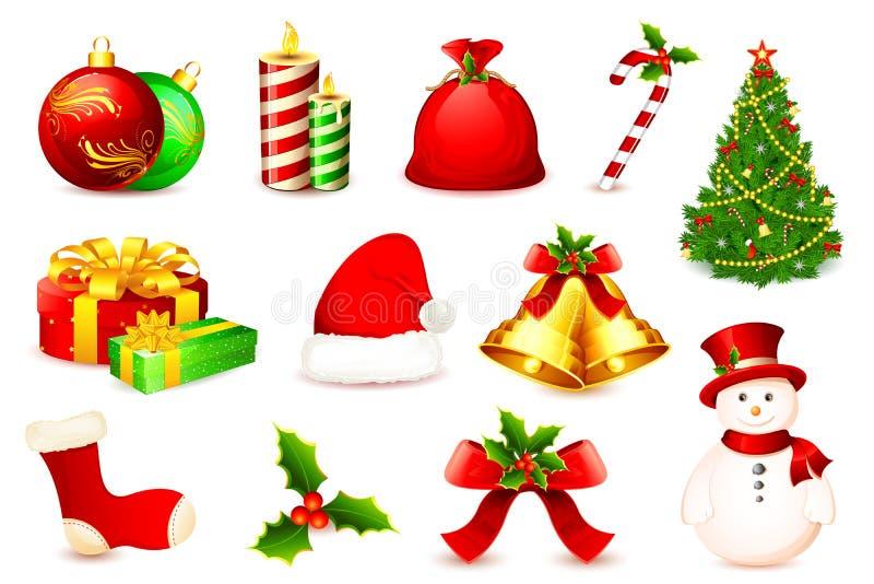 στοιχείο Χριστουγέννων απεικόνιση αποθεμάτων