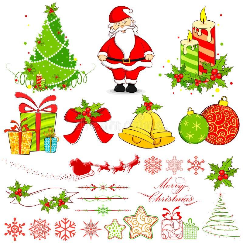 στοιχείο Χριστουγέννων ελεύθερη απεικόνιση δικαιώματος