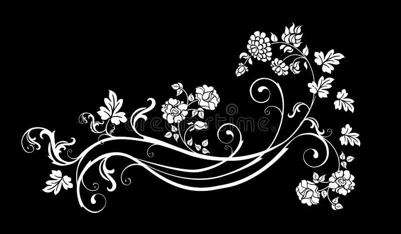 στοιχείο floral ελεύθερη απεικόνιση δικαιώματος