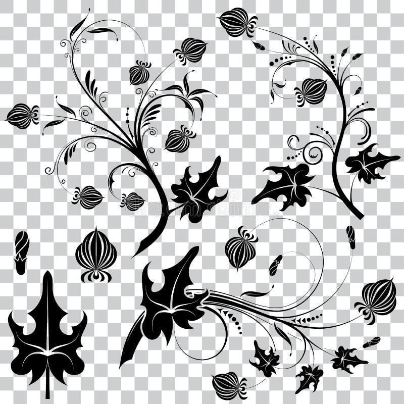 στοιχείο floral απεικόνιση αποθεμάτων