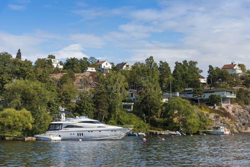 Στοκχόλμη από το νερό: Bromma στοκ εικόνα με δικαίωμα ελεύθερης χρήσης