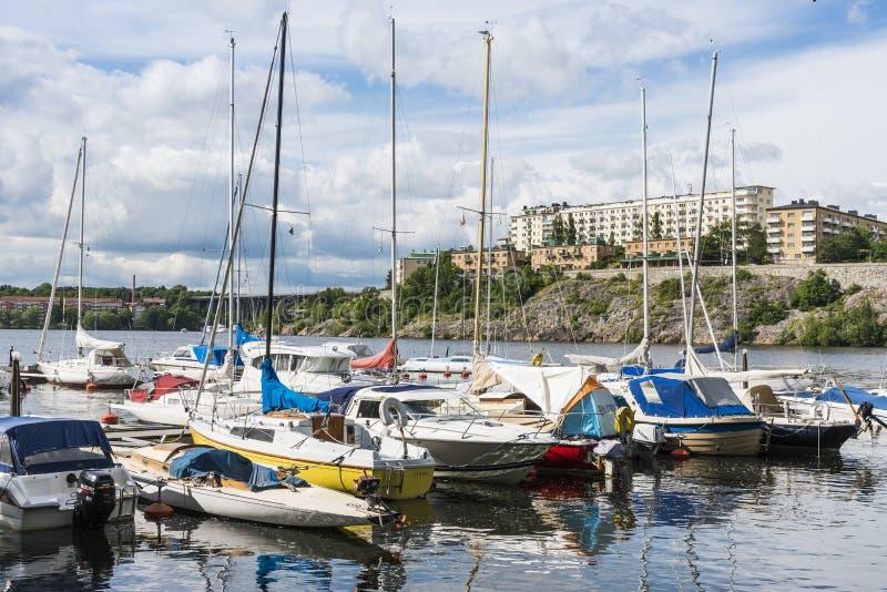 Στοκχόλμη από το νερό: Fredhäll στοκ φωτογραφία με δικαίωμα ελεύθερης χρήσης