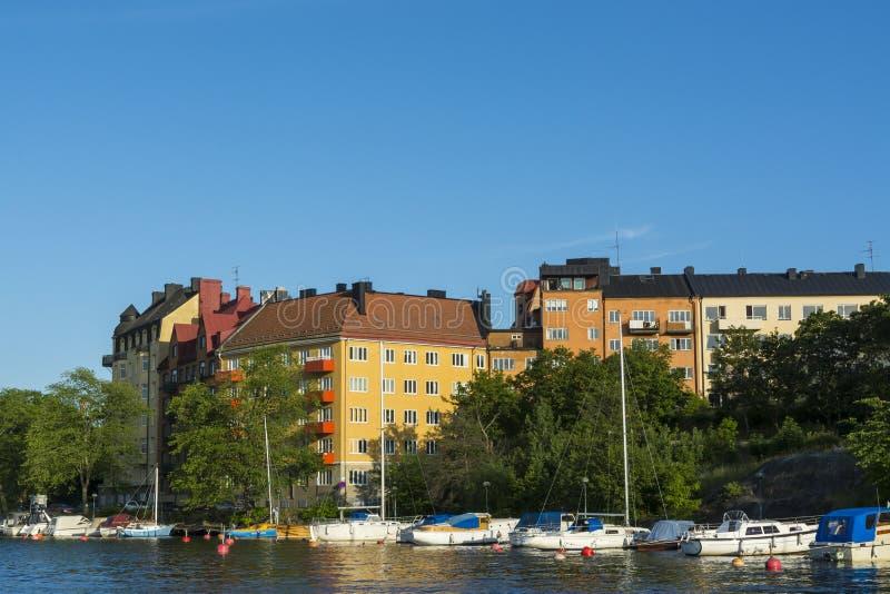 Στοκχόλμη από το νερό: Gröndal στοκ εικόνες