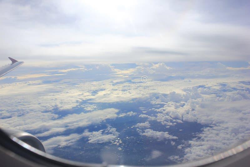 Στον ουρανό στοκ φωτογραφία