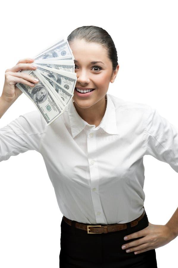 Στοχαστικά χρήματα εκμετάλλευσης επιχειρηματιών στοκ εικόνες
