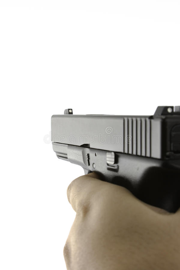 στοχευμένος όντας πυροβ στοκ φωτογραφία με δικαίωμα ελεύθερης χρήσης