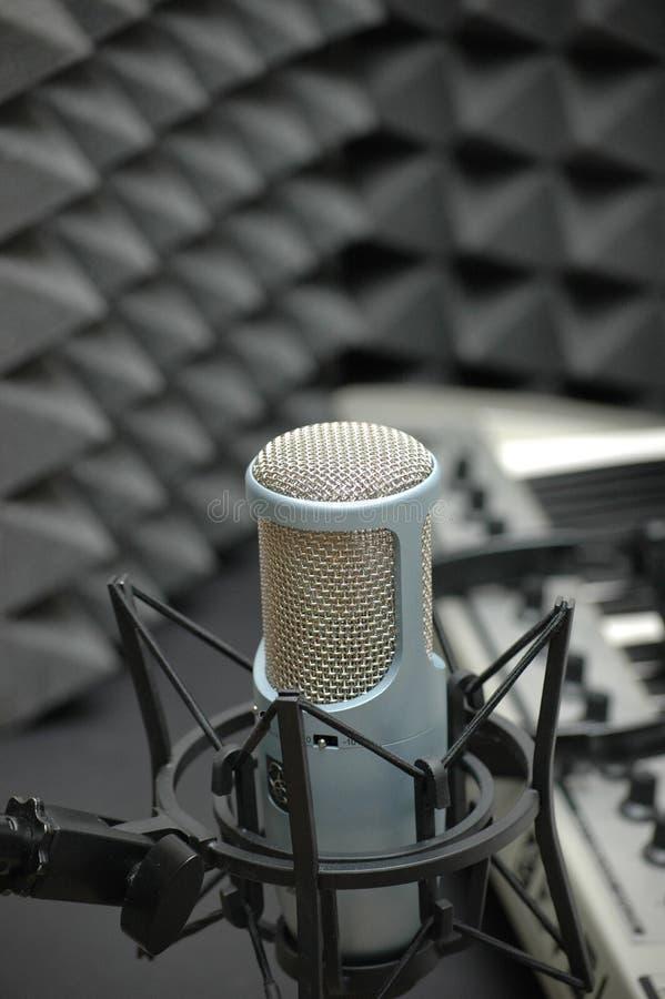 στούντιο μουσικής στοκ εικόνες